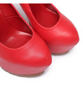 "Giaro Red  Giaro ""Profile"" platform pumps"