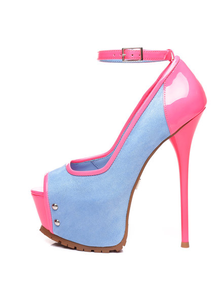 Giaro MADISON |DENIM NEON | PROFILE PUMPS