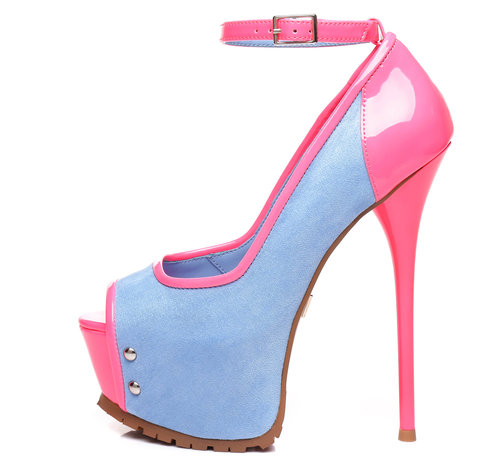 Giaro MADISON | DENIM NEON | PROFIEL Pumps