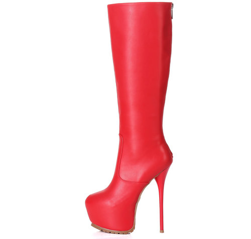 Giaro CAMERON | RED |  PROFILE KNEE BOOTS