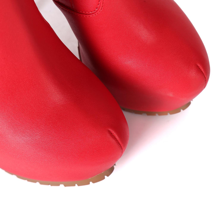 Giaro Giaro VIDA  red thigh boots profile soles