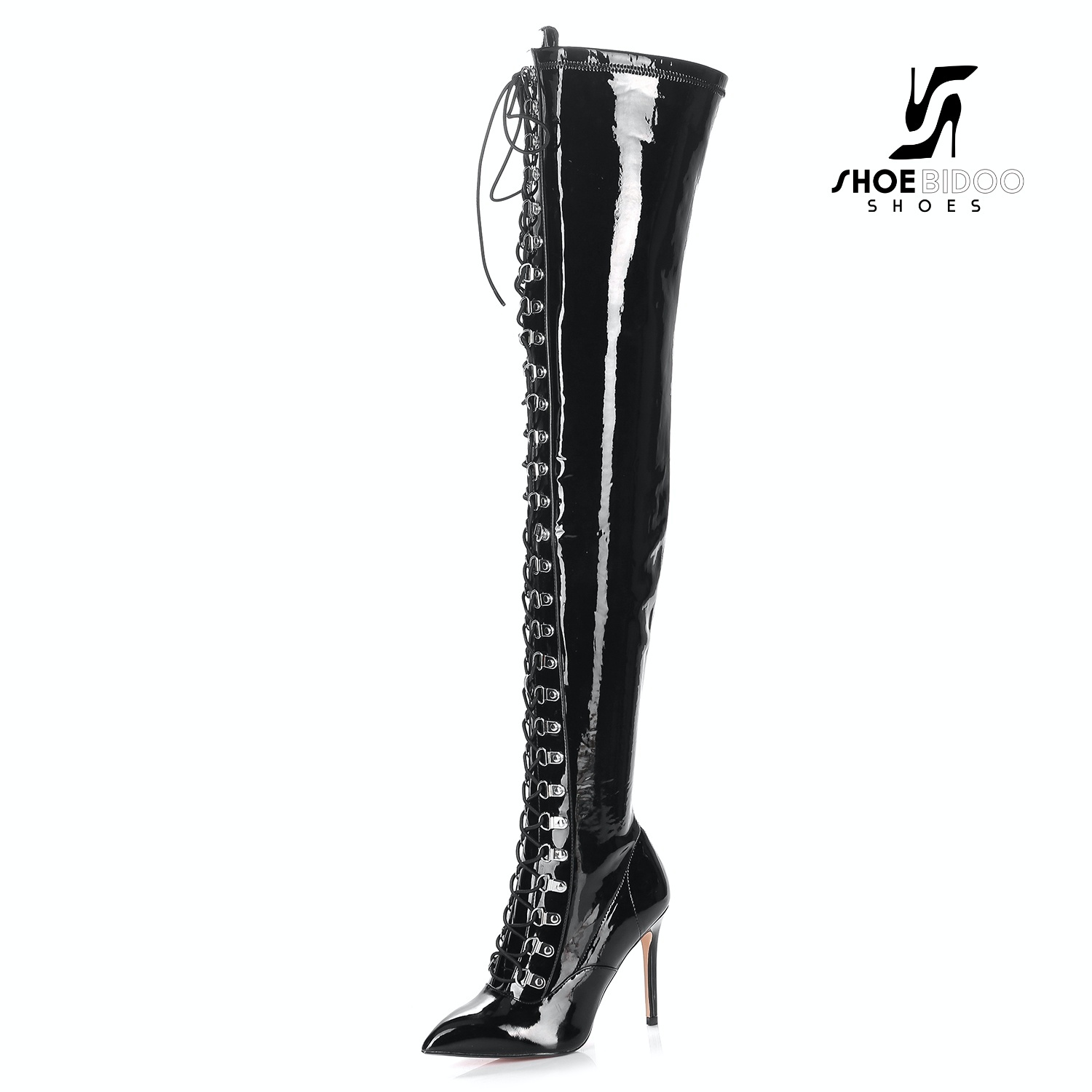 Giaro VERUSKA long lace-up thigh high boots with high heels