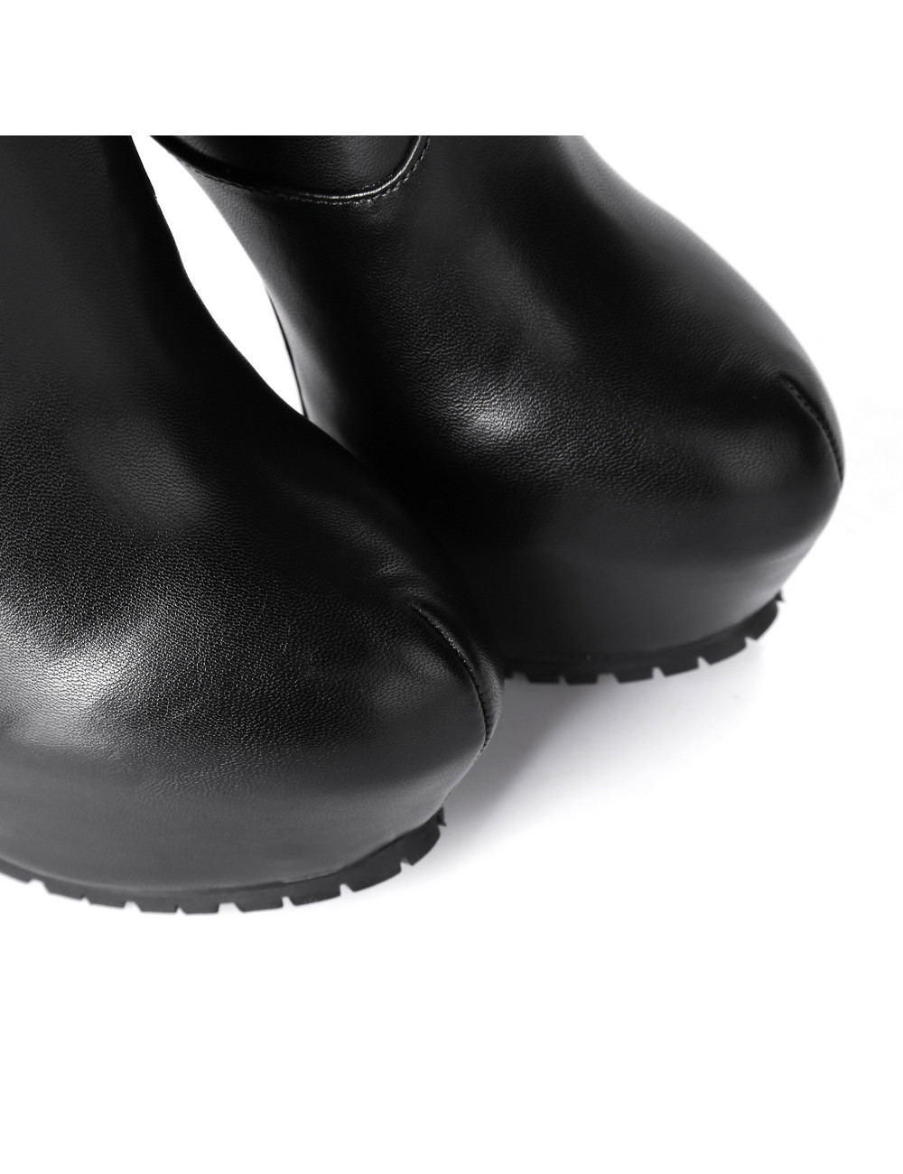 Giaro Giaro Cameron schwarze matte Kniestiefel - Reißverschluss hinten