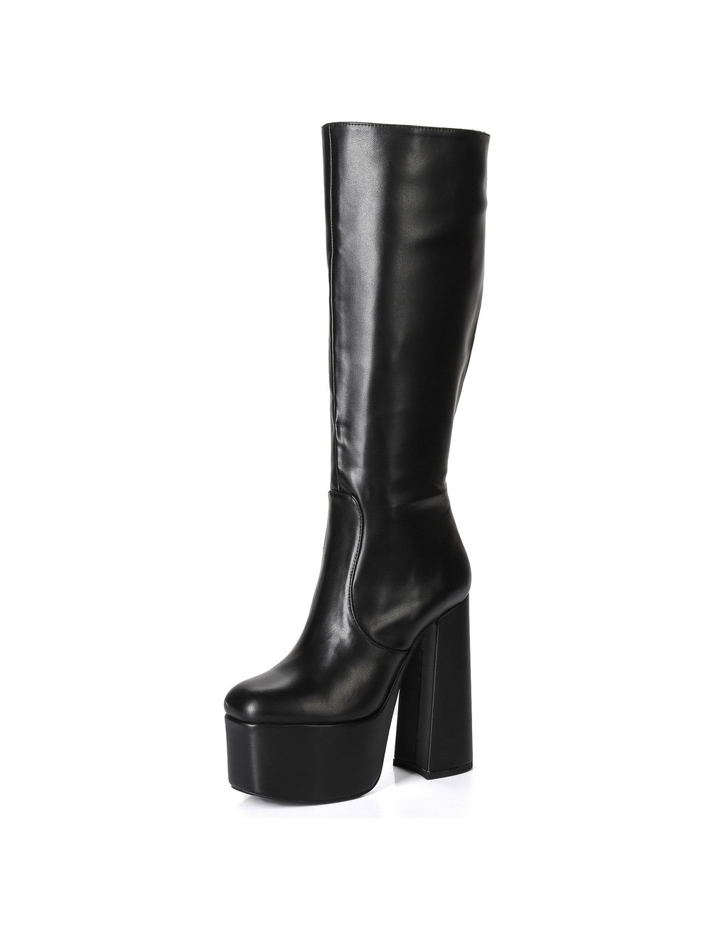 """Ellie Tailor by Giaro Black chunky heel """"Emmy"""" knee boots by Ellie"""