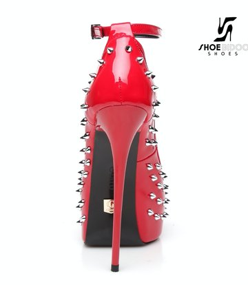 """Giaro Red shiny Giaro """"Galana"""" platforms with spikes"""