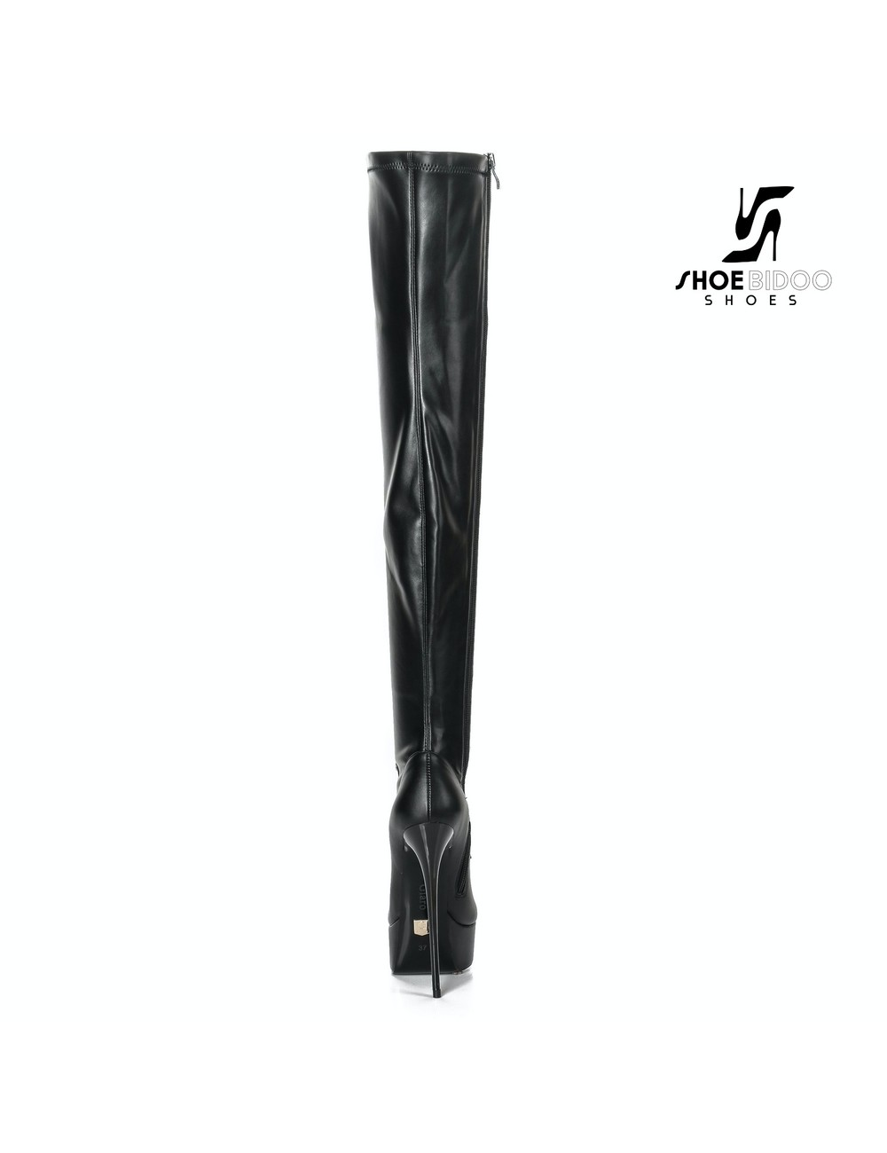 "Giaro Black Lace-up Giaro ""DOMINIQUE"" thigh boots"
