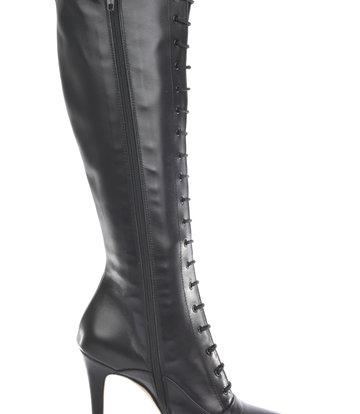 Sanctum Hohe italienische Schnürstiefel JUNO mit Stöckelschuhen aus echtem Leder
