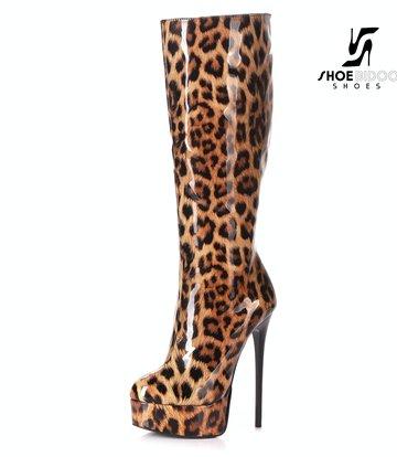 """Giaro Glänzende Leopard Giaro """"Galana"""" Stiefel"""