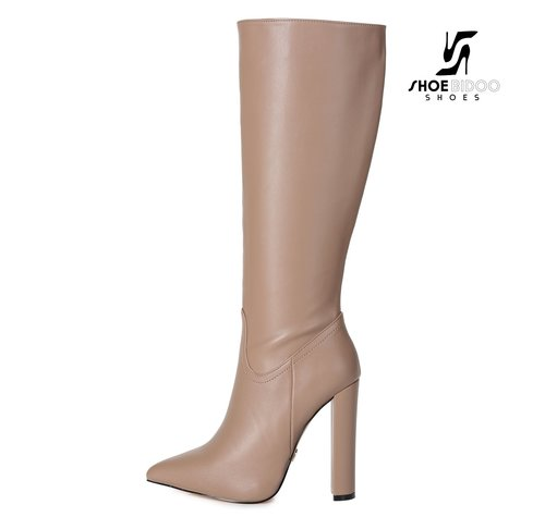 Giaro TAKEN | TAUPE | FASHION KNEE BOOTS
