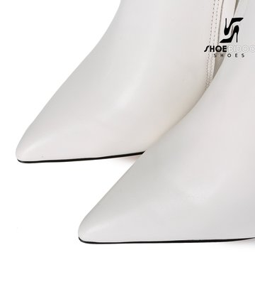 Giaro Giaro fashion knielaarzen TAKEN in wit