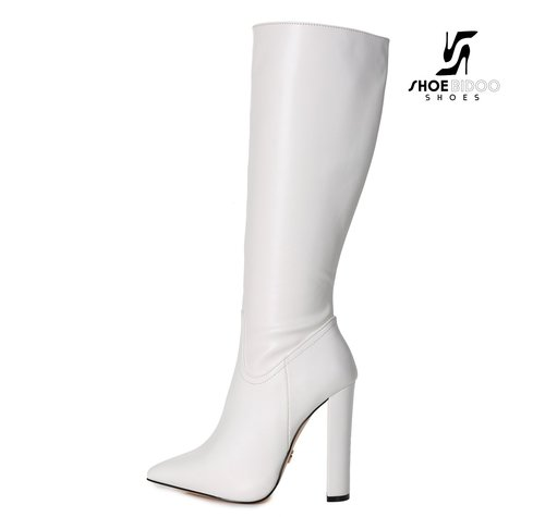 Giaro TAKEN | WHITE | FASHION KNEE BOOTS