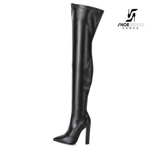 Giaro TRINKET | BLACK | FASHION THIGH BOOTS