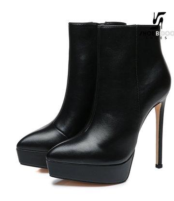Giaro Giaro Platform ankle boots STACK in black