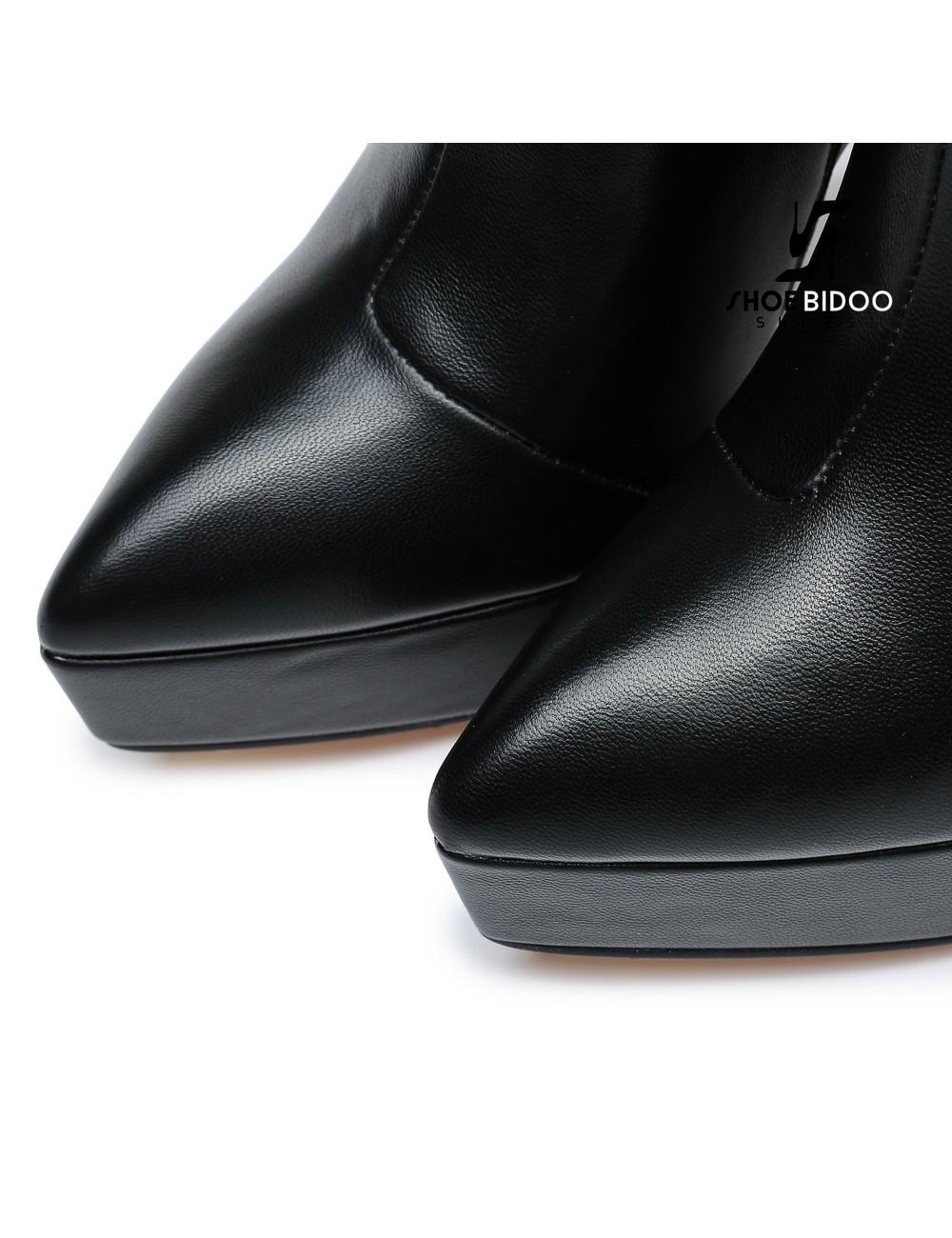 Giaro Giaro Platform enkellaars STACK in zwart