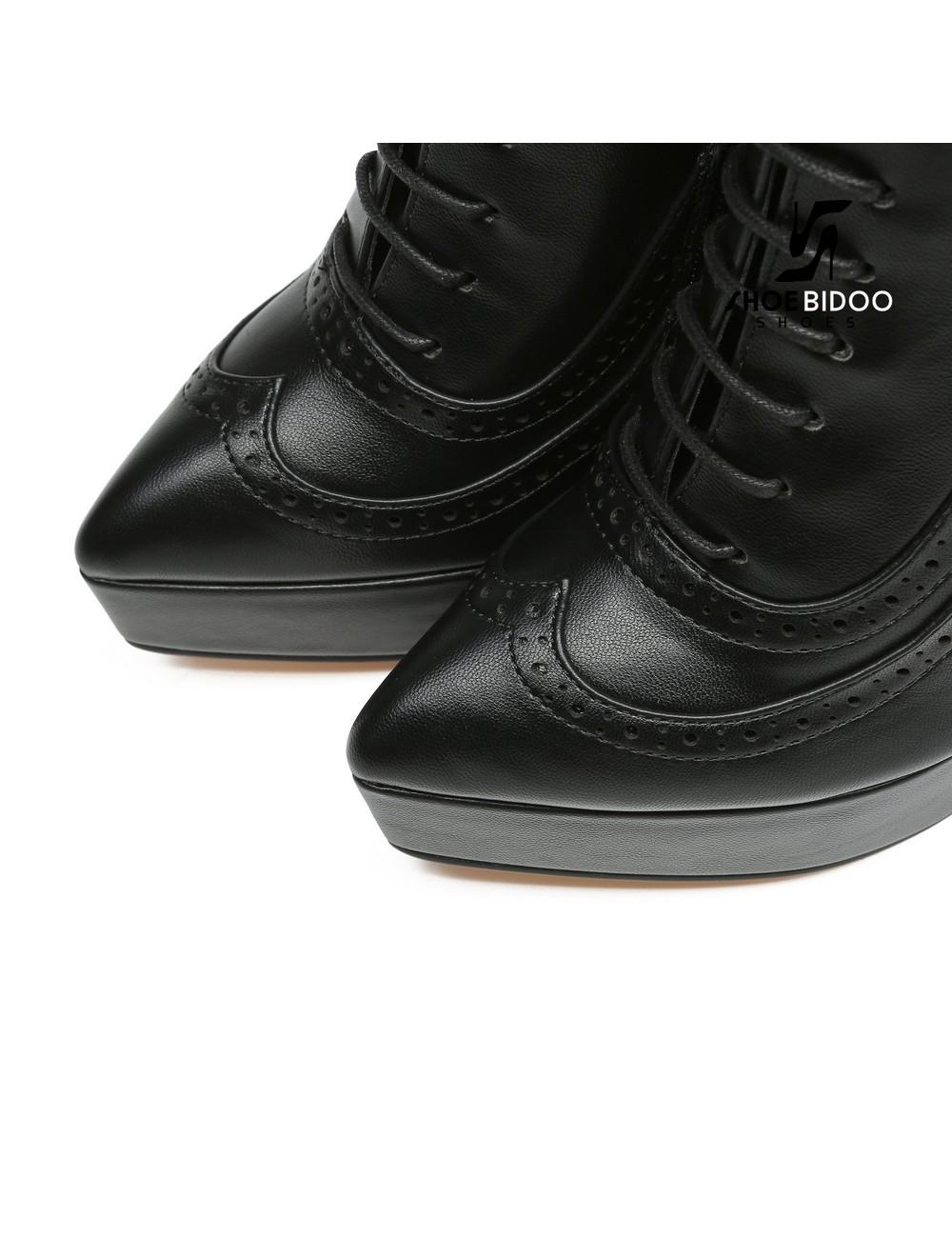 Giaro Giaro Platform Stiefeletten SHADY in schwarz