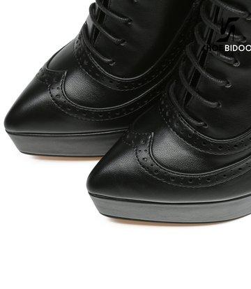 Giaro Giaro Platform ankle boots SHADY in black