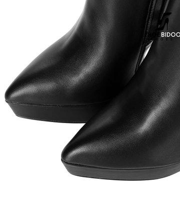 Giaro Giaro Platform knee boots SARAYA in black