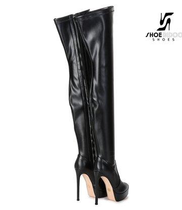 Giaro Giaro Platform Stiefel SPIRE in schwarz