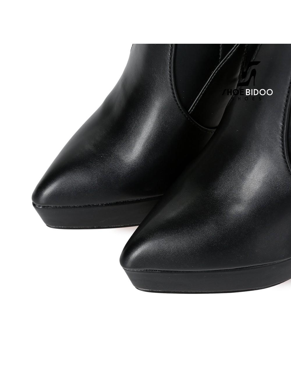 Giaro Giaro Platform dijlaarzen SPIRE in zwart