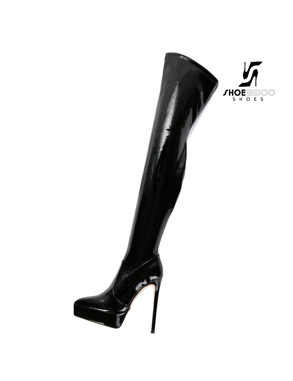 Giaro Giaro Platform Stiefel SPIRE in schwarz lack