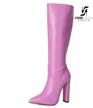 Giaro Giaro fashion knielaarzen TAKEN in roze