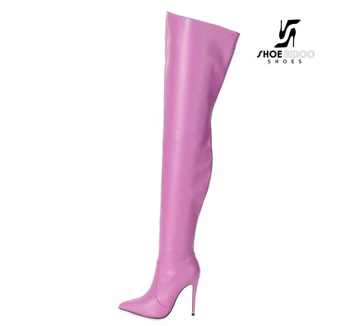 Giaro ARABELLA | PINK | THIGH BOOTS