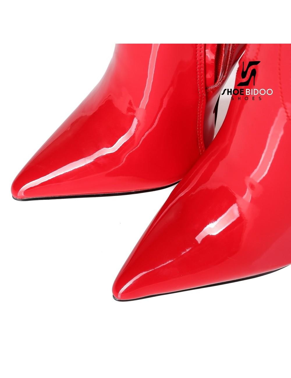 Giaro Giaro Mode Kniestiefel TAKEN in rotem Patent