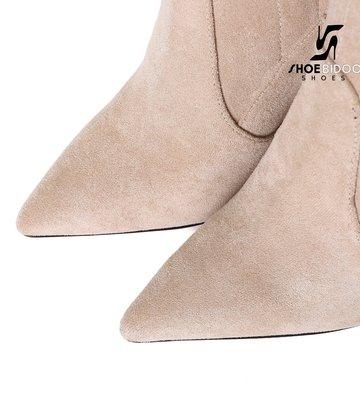 Giaro Giaro fashion dijlaarzen TRINKET in stone suede