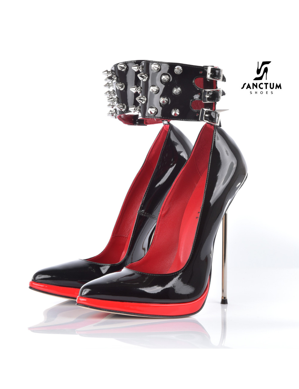 Sanctum Extremely high Italian pumps FATALE with metal stiletto heels