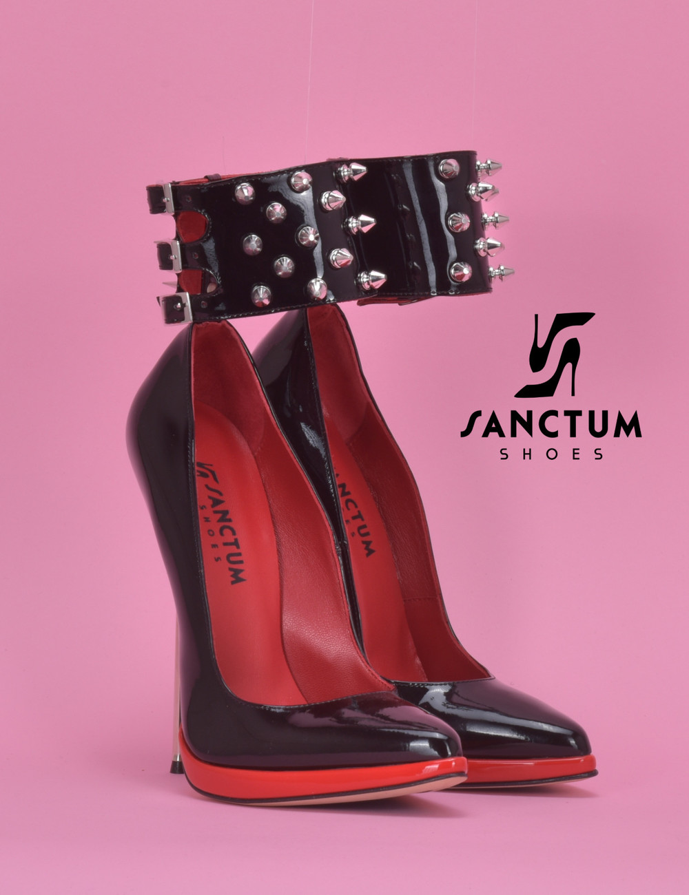 Sanctum Extreem hoge Italiaanse pumps FATALE met metalen naaldhakken