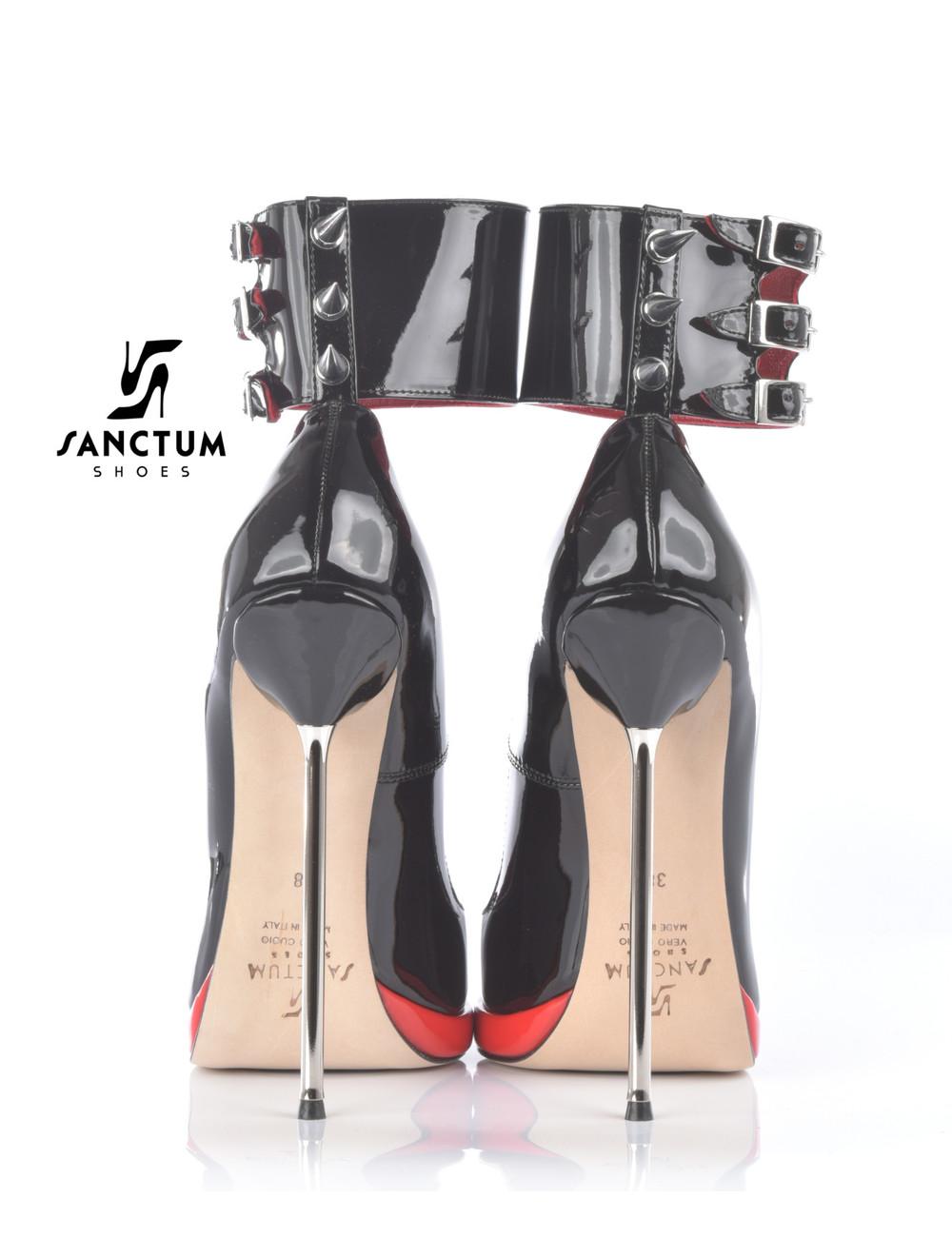 Sanctum Extrem hohe italienische Pumps FATALE mit Stiletto-Absatz aus Metall