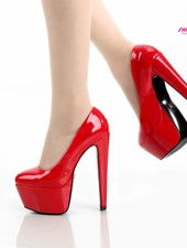 Giaro DES 1001 | RED SHINY | PLATFORM PUMPS