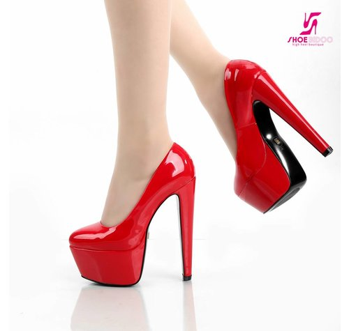 Giaro DES 1001 | RED SHINY | PLATFORM PUMPS-OUTLET