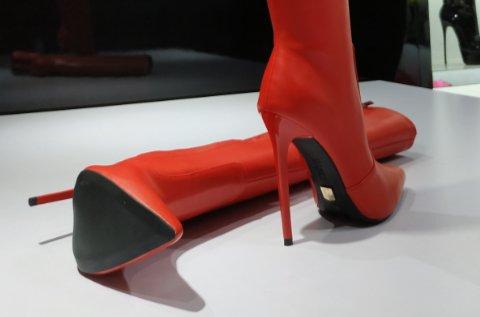 High Italian boots
