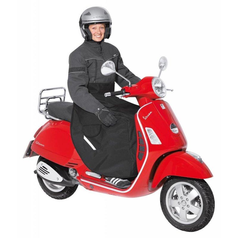 Held Scooter beenkleed