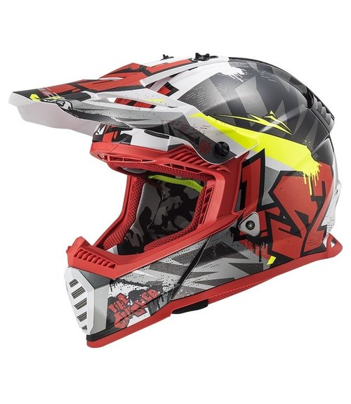 LS2 MX437 Fast EVO Crusher
