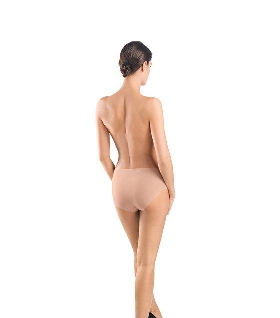 Hanro Taille Slip Invisible Cotton 071228 chestnut