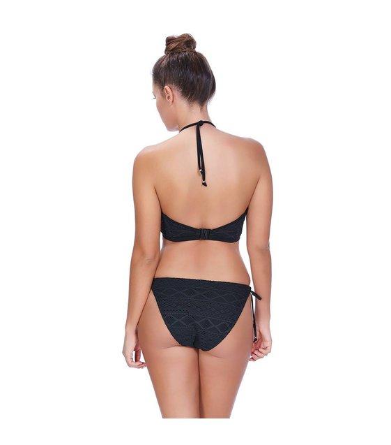 Freya Hi-Neck Bikini Top Sundance AS3973 Black