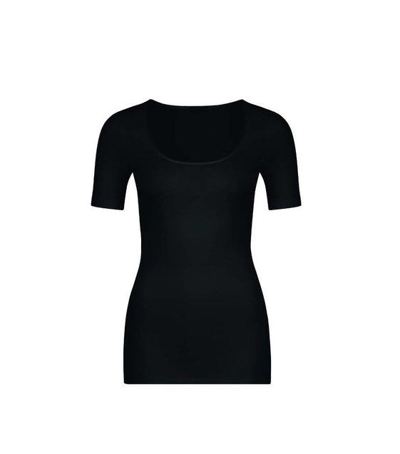 Hanro T-Shirt Sea Island Cotton 071249 Black