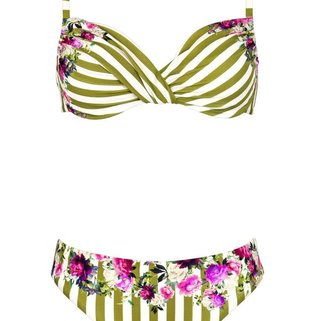 Maryan Mehlhorn Bikini Set Riviera 5520-600 White Olive