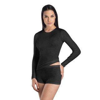 Hanro Shirt Wol Zijde 071409 Black