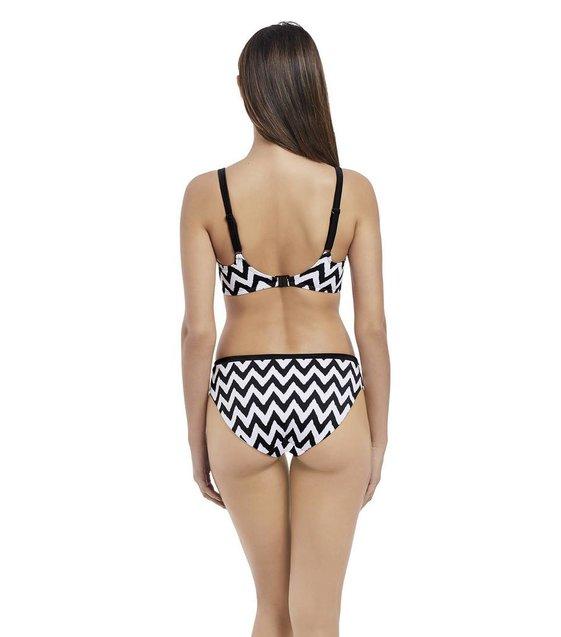 Freya Bikini Top Making Waves AS2947 Zwart-Wit