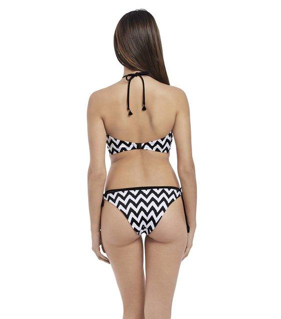 Freya Bikini Slip Making Waves AS2951 Zwart-Wit