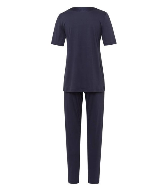 Hanro Pyjama Lavender 076333 Purple Grey