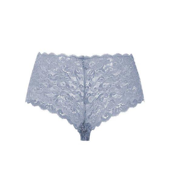 Hanro Slip Moments 071447 Lilac Grey
