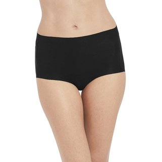Wacoal Taille Slip Beyond Naked Cotton WA870359 Black