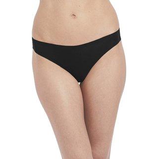 Wacoal String Slip Beyond Naked Cotton WA879259 Black
