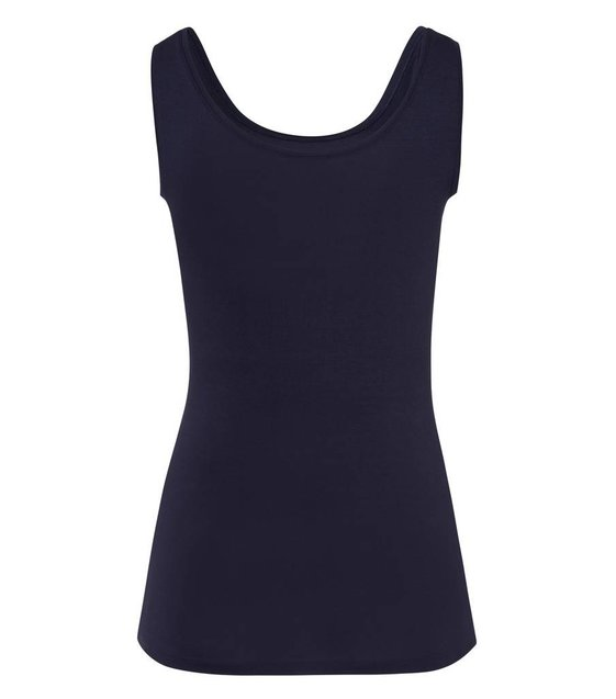 Hanro Tank Top Soft Touch 071257 Crown Blue