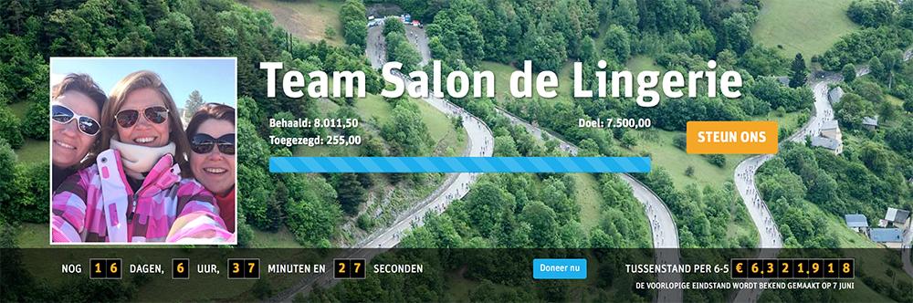 Actie Pagina Team Salon de Lingerie