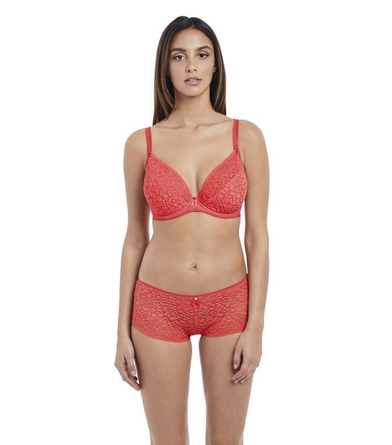 Freya Lingerie Plunge BH Soiree Lace AA5013 Coral